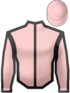 Scud. Pink & Black